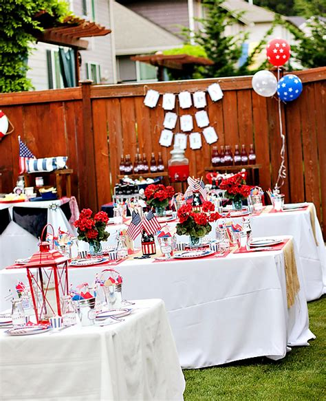 A Nautical Backyard Bash With A Patriotic Twist Hostess With The Mostess 174
