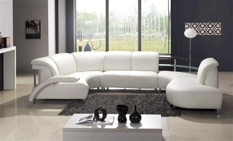 White Leather Sofa Living Room Ideas Furniture Modern Sofa Designs That Will Make Your Living