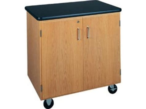 Mobile Storage Cabinet by Mobile Storage Cabinet With Laminate Top Dvr 4401 Lab