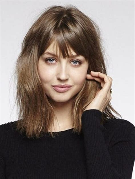 long bob with fringe fringe hairstyle haircuts with bangs to try now