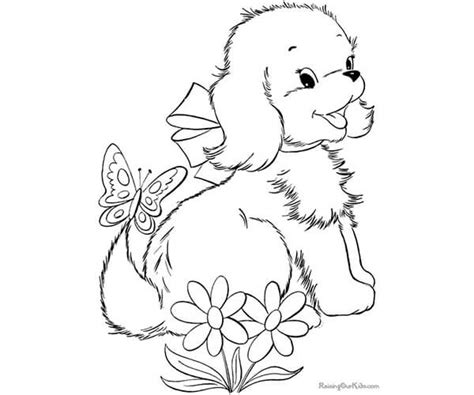 imagenes blanco y negro tiernas 35 im 225 genes de perros para colorear e imprimir cancitos
