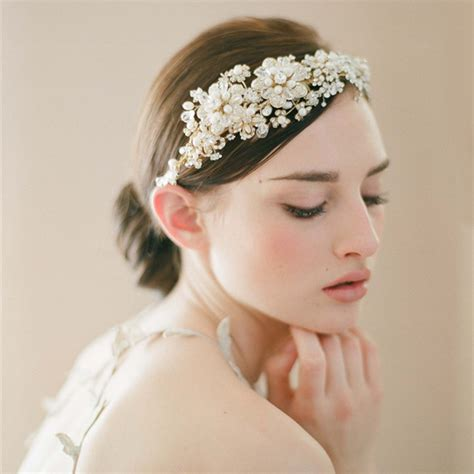 vintage flower wedding hair accessories 2014 vintage flower tiara bridal hair accessories