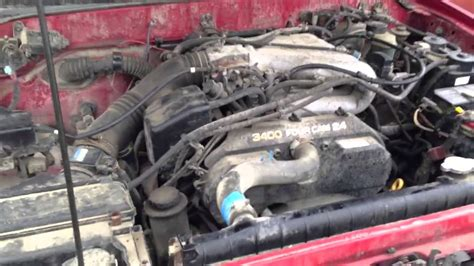 3 4 l toyota engine toyota 3 4l v6 with bad engine knock