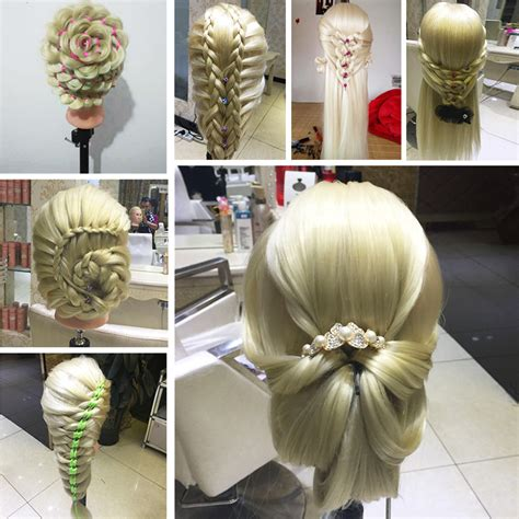 mannequin head to practice braiding in st louis hairdresser braiding practice mannequin heads dummy head