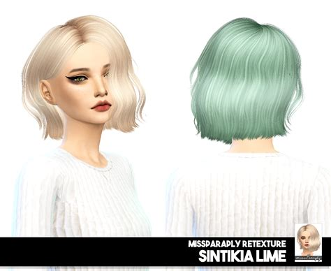 sims 4 short hair sims 4 hairs miss paraply sintiklia lime solids dark