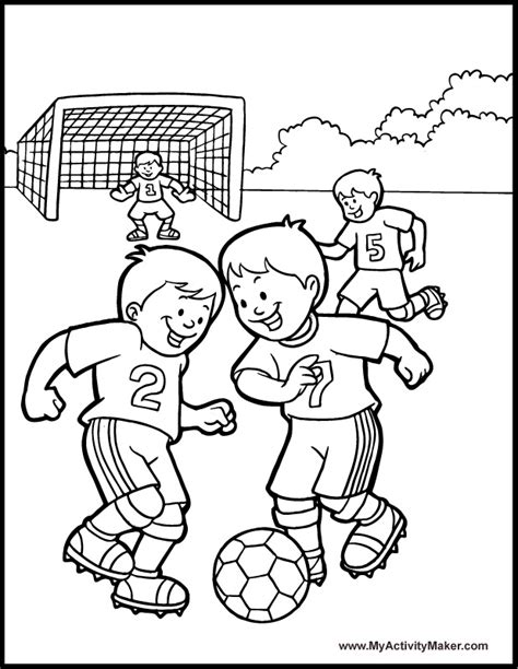 Coloring Page Soccer free soccer coloring pages az coloring pages