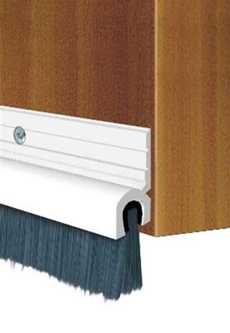 Garage Door Draft Stopper Door Garage Brush Draught Excluder Stopper Seal White 900mm Ebay
