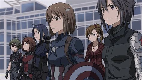anime war anime quot captain america civil war quot is pretty freakin