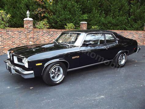 1974 Pontiac Gto For Sale by Black 1974 Pontiac Gto For Sale Mcg Marketplace
