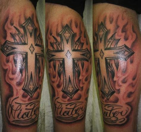 tribal cross tattoos3d tattoos