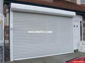 Rolling Garage Door Residential Aluminum Alloy Roller Shutter Door For Garage Residential Industrial Rolling Shutter Door