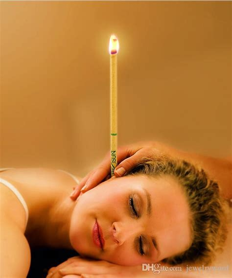 Holistic Ear Wax Removal Candle by Coning Beewax Ear Candling One Mix Thermo