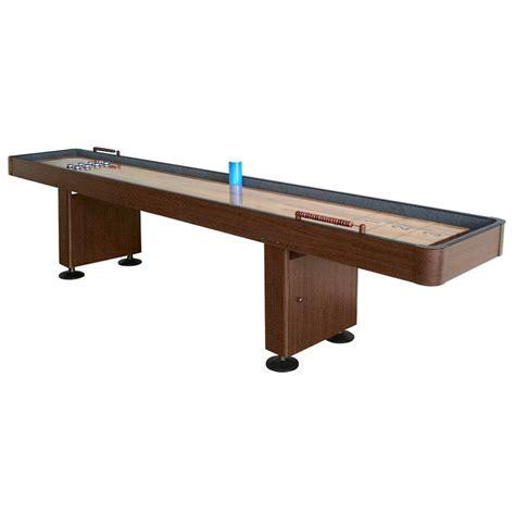 9 ft shuffleboard table hathaway 9 ft shuffleboard table walnut bg1205 the