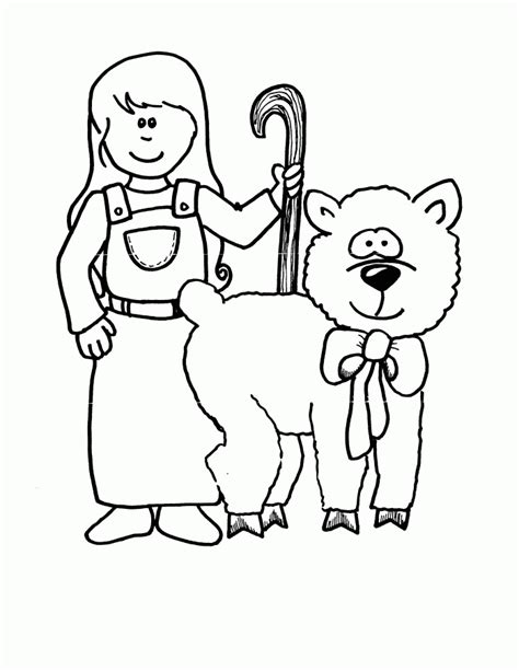little bo peep coloring pages coloring home