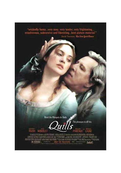 quills movie synopsis quills la plume et le sang film 2000 allocin 233