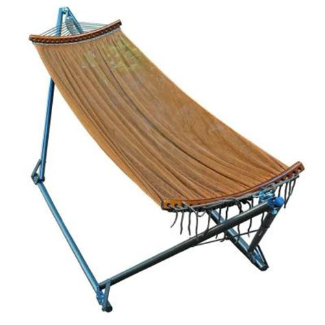 e z cozy 8 5 ft polyester folding hammock 4912 the home