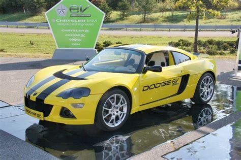Chrysler Llc by Chrysler Llc Electric Cars Dodge Ev Img 4 It S Your Auto