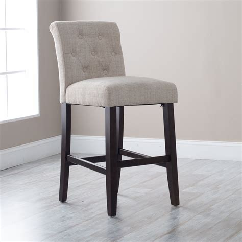 tufted bar stool cushion cabinet hardware room best