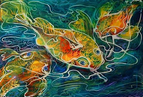 Ready Senin Animal favorite of robin mead currently viewing batik koi 01