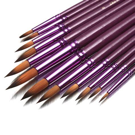 paint brushes 12pcs painting brush paint set artist watercolor acrylic drawing pen au aud 9 59 picclick au