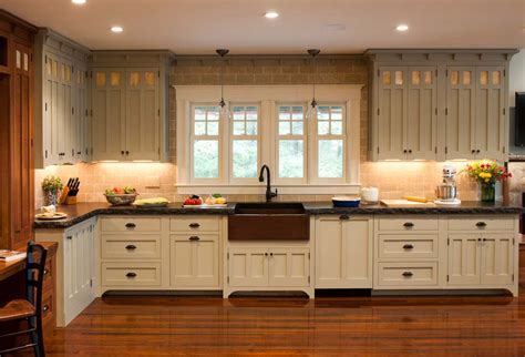 arts and crafts style kitchen cabinets pretty kitchen ideas pinterest