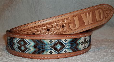 how to make beaded belts beaded leather belt