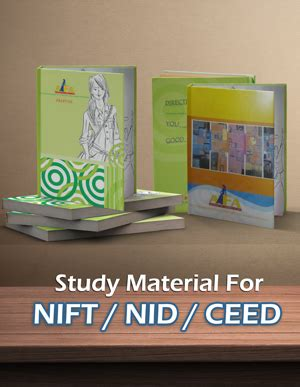 reference books for nid entrance pg and ug level pstudy materials for nid nift ceed uceed