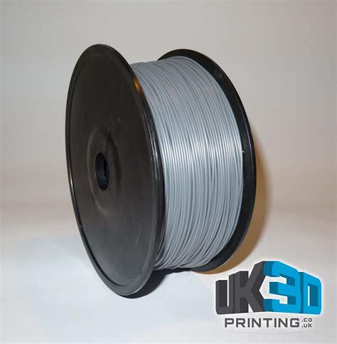Abs 3d Printer silver abs 3d printer filament 1 75mm uk3d printing
