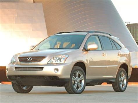 2006 lexus rx pricing ratings reviews kelley blue book
