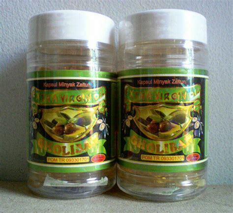 Kapsul Minyak Zaitun Gholiban kapsul minyak zaitun gholiban isi 60 alzafa