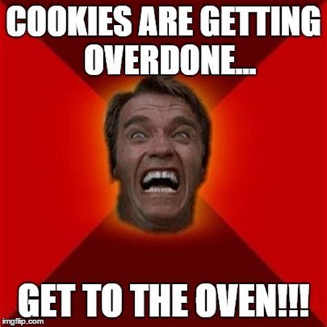 Schwarzenegger Meme - arnold schwarzenegger baking imgflip