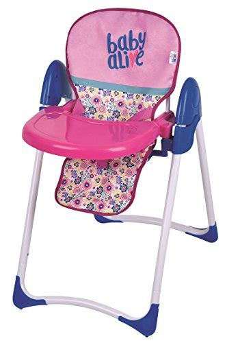 baby alive high chair swing baby alive doll deluxe high chair import it all
