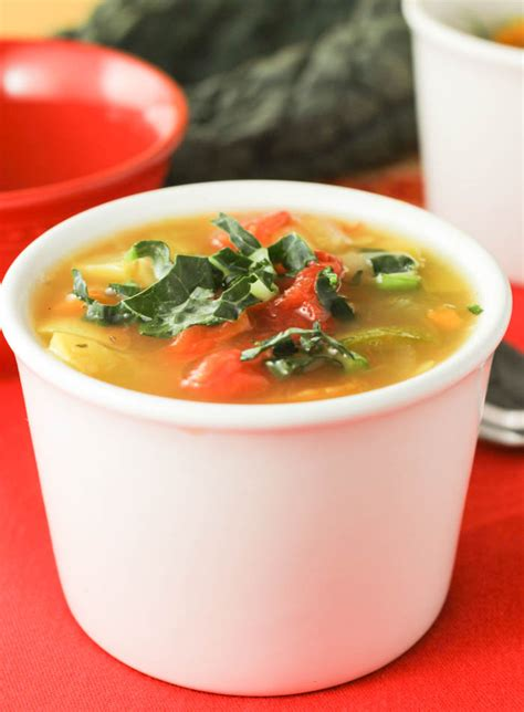 Detox Soup Vegetarian by Detox Soup Citronlimette
