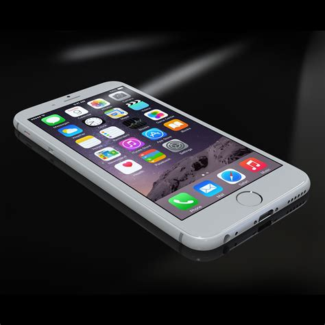 apple iphone 6s 3d model