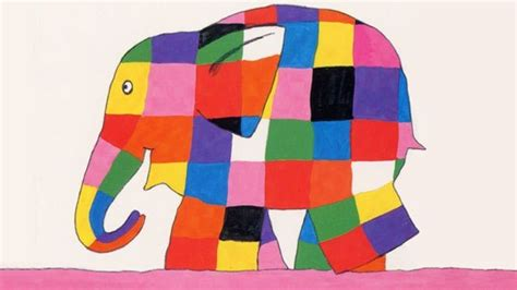 Elma The Patchwork Elephant - povodom tolerancije www 15oktobar edu rs