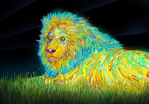 wallpaper colorful lion 30 outstanding mac os x lion wallpaper collection