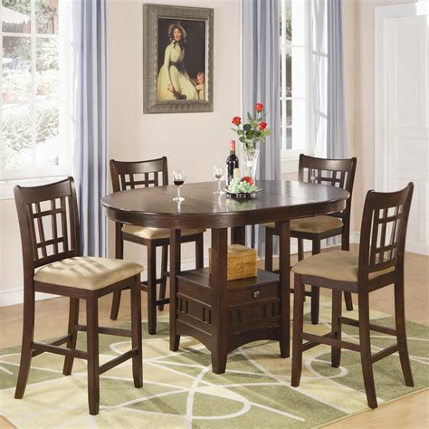 Furniture Superstore Rochester by Coaster Lavon 5 Counter Table And Chair Set