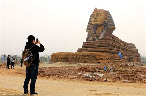 html themes sphinx copycat great sphinx unveiled for new chinese theme park