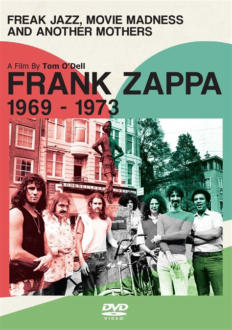 frank zappa freak jazz  madness  mothers dvd leeways home grown  network