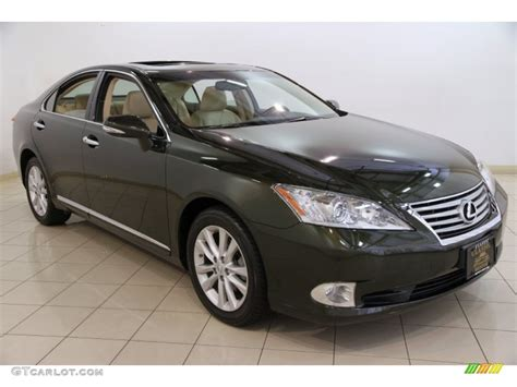 green lexus 2010 peridot green mica lexus es 350 84859998 photo 2