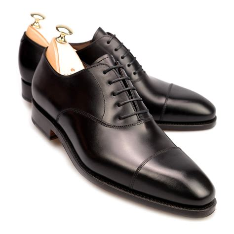 Black Shoes by Black Captoe Oxford Shoes Carmina