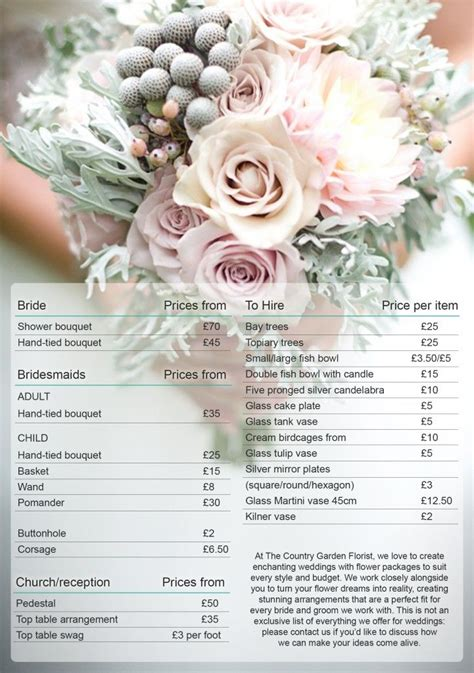 Wedding Flowers Brochure by 17 Best Images About Wedding Photography Brochure On