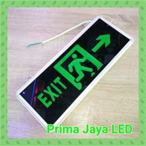 Jual Lu Emergency Glodok sign emergency exit murah prima jaya led