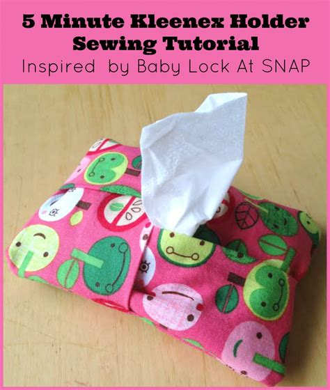 tissue holder pattern sew 25 great fabric stash busting projects to make and give