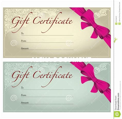 hair salon gift card templates free printable hair salon gift certificate template fresh