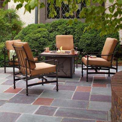 outdoor patio furniture with pit pit sets outdoor lounge furniture the home depot
