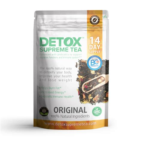 How Many Weeks To Caffiene Detox by Home Detox Supreme Tea