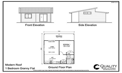 granny unit plans modern kit house plans modern house