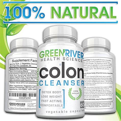 Colon Detox Side Effects by Gentle Colon Detox Cleanse Most Effective 30 Day Cleanse