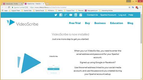 videoscribe desktop tutorial download and install videoscribe pc account dev